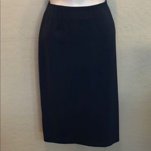 NWT Casual Corner Blue Skirt Size 2